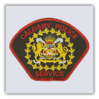 Calgary Police Department, Canada Patch