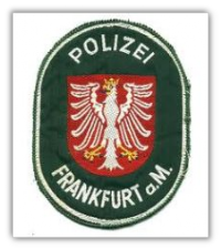 Frankfurt Polizei, Germany Patch