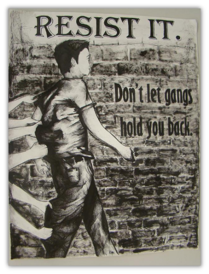 2012 Anti-Gang Poster Contest Winner - Junior Division