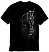TGIA Black Tactical T-Shirt S-2XL