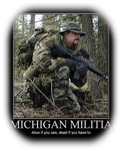 Michigan Miltia Poster