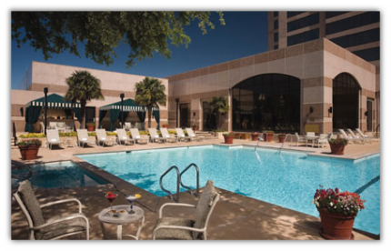 Omni San Antoinio Hotel at the Colonnade Pool Area