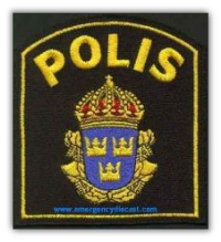 The Swedish Police Patch