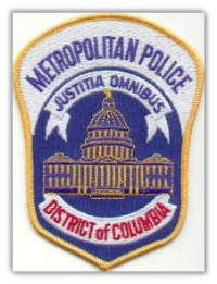 Washington D.C. Metropolitan Police Department Patch